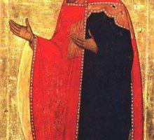 Молящийся Св. Георгий
